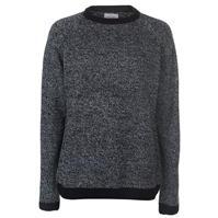 Pulover tricot cu guler rotund Lee Cooper contrast pentru Barbati