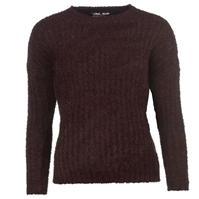 Pulover tricot cu guler rotund Lee Cooper pentru Femei