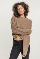 Pulover Wide lejer pentru Femei taupe Urban Classics