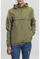 Jacheta Pulover Basic pentru Femei oliv inchis Urban Classics