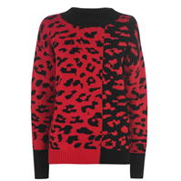 Pulovere DKNY Leopard