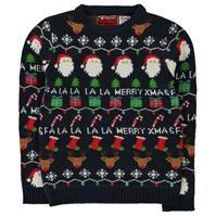 Pulovere tricotate Craciun pentru baietei