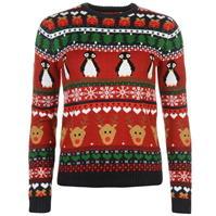 Pulovere tricotate Craciun pentru Femei