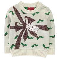Pulovere tricotate Craciun pentru fete pentru Bebelusi