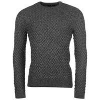 Pulovere tricotate Firetrap Texture pentru Barbati