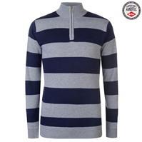 Pulovere tricotate Lee Cooper Quarter cu fermoar pentru Barbati