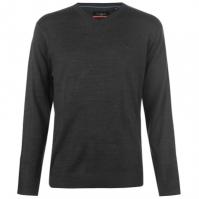 Pulovere tricotate Pierre Cardin cu decolteu in V pentru Barbati