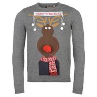 Pulovere tricotate Star 3D Craciun Xmas pentru Barbati