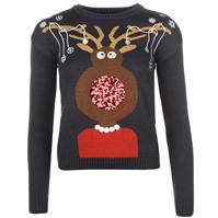 Pulovere tricotate Star 3D Craciun Xmas pentru Femei