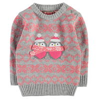Pulovere tricotate Star Craciun Xmas pentru fete pentru Bebelusi