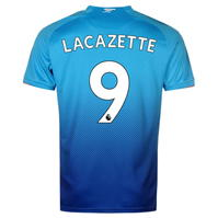Puma Arsenal Away Lacazette Shirt 2017 2018