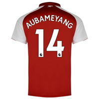 Puma Arsenal Home Pierre Emerick Aubameyang Shirt 2017 2018