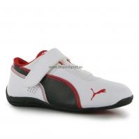 Puma D Cat din piele Shoes pentru Copii