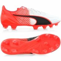Ghete fotbal Pantofi piele PUMA EVO SPEED 3.5 FG / 103794 01 barbati