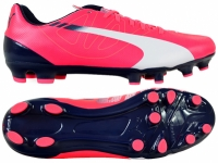 Ghete de fotbal PUMA EVO SPEED 5.3 FG BRIGHT PLASMA / 103111 05