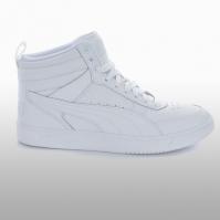 Pntofi sport albi Puma Rebound Street V2 L Jr 363913-02 copii