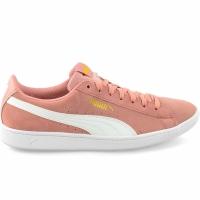 Adidasi sport Puma Vikky Peach bej-Puma alb 362624 25 femei