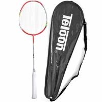 Rachete Badminton SMJ Teloon Tsunami TL300 alb-rosu