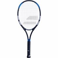 Rachete tenis Babolat Falcon Strung G2 Natural cu negru And gri-albastru Cover 121205