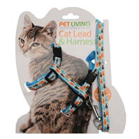 Winners Cat Lead and Harness Set