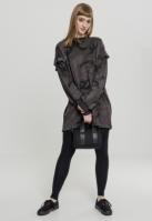 Rochie Camo cu volane Crew pentru Femei inchis-camuflaj Urban Classics