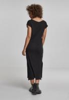 Rochie casual lunga pentru Femei negru Urban Classics