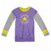 Rochie Converse tricot pentru fetite