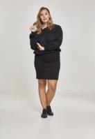 Rochie Sweat cu umerii goi pentru Femei negru Urban Classics