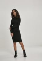 Rochie urban stramta cu maneca scurta urban LS pentru Femei negru Urban Classics