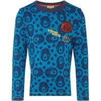 Rock and Wilde DILJON TS LS ALL OVER BEAR PRINT