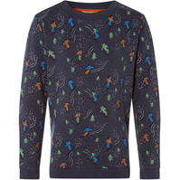 Rock and Wilde HAGRID SW ALL OVER SKI SWEAT cu personaje