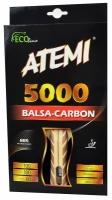 Paleta ping pong ATEMI 5000 BALSA CARBON concave
