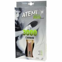 Paleta ping pong ATEMI 3000 CARBON anatomical