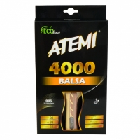 Paleta ping pong ATEMI 4000 BALSA anatomical