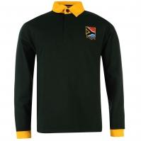 Tricouri rugby RWC South Africa cu Maneca Lunga pentru Barbati