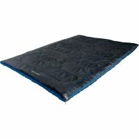Sac de Dormit High Peak Ceduna Duo (200x150cm) Anthracite albastru 20063