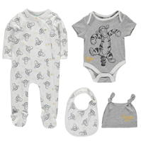 Salopeta Disney 4 Piece Set Babies