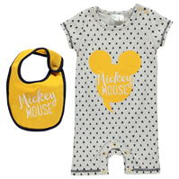 Salopeta Disney cu Maneca Scurta Suit pentru Bebelusi