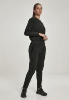 Salopeta polar fleece pentru Femei negru Urban Classics