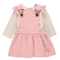 Salopeta Rochie Crafted Mini Set pentru fete pentru Bebelusi