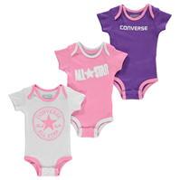 Salopeta Set de 3 Converse Suits pentru Bebelusi