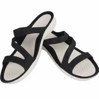Sandale Crocs Swiftwater W negru alb 203998 066 barbati