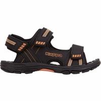 Sandale Kappa Symi K Footwear negru And portocaliu 260685K 1144 copii pentru Copii