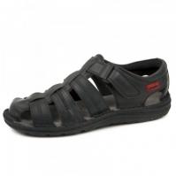 Sandale piele barbati Joma Soporto 801 negru