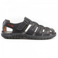 Sandale piele barbati Joma Soporto 901 negru