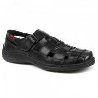 Sandale piele barbati Joma Stenerife 801 negru
