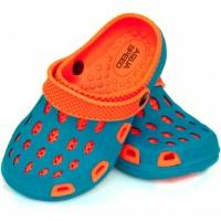 Sandale pool Aqua-speed Silvi kol 01 albastru portocaliu copii