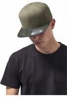 Sapca Visor Snapback Camo oliv-camuflaj Flexfit