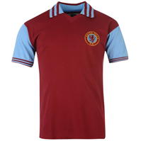 Tricou echipa Score Draw Aston Villa FC 1981 pentru Barbati