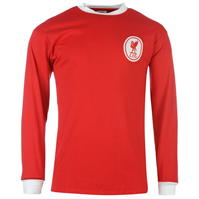 Tricou Acasa Score Draw Retro Liverpool 1964 pentru Barbati